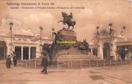 CPA  ESPOSIZIONE INTERNAZIONALE DI TORINO 1911 EXPOSITION INGRESSO - Expositions