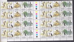 AAT 1983 Regional Wildlofe  5v 4 Gutter Pairs (8 Sets) ** Mnh (F6809) - Australian Antarctic Territory (AAT)