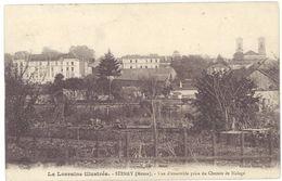 Cpa Stenay - Vue D'ensemble Prise Du Chemin De Halage - Stenay