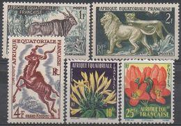 AFRIQUE  EQUATORIALE  FRANCAISE  N°LOT__NEUF* VOIR  SCAN - A.E.F. (1936-1958)