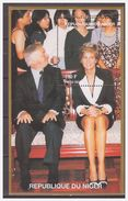 0490 Niger 1997 Lady Diana S/S MNH - Beroemde Vrouwen