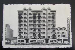 Cpa/pk Blankenberge Paleis Van Graaf Jan 1958 - Blankenberge