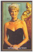0492 Niger 1997 Lady Diana S/S MNH - Beroemde Vrouwen