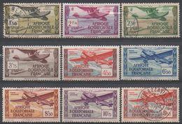 AFRIQUE  EQUATORIALE  FRANCAISE  N°PA 1/8__NEUF* Et  OBL  VOIR  SCAN - A.E.F. (1936-1958)