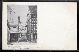 CPA 27 - Louviers, Maison Rue De La Laiterie - Louviers