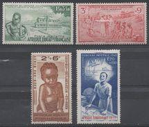 AFRIQUE  EQUATORIALE  FRANCAISE  N°PA 10/13__NEUF* VOIR  SCAN - A.E.F. (1936-1958)