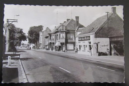 Cpa/pk Adegem - Kruispunt Staatsbaan - Dorpsstraat - Fotokaart - Aigle Belgica Bier - De Arend Café - Maldegem