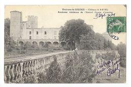 Environs De LEZOUX  (cpa 63)  Château De Ravel Ancienne Résidence De L'Amiral D'Estaing -   - L 1 - Lezoux