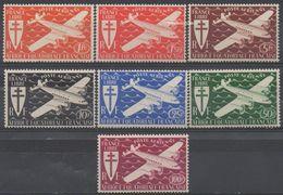 AFRIQUE  EQUATORIALE  FRANCAISE  N°PA 22/28__NEUF* VOIR  SCAN - A.E.F. (1936-1958)
