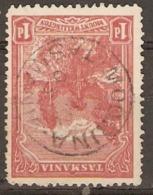 Tasmania 1905  SG 250  1d  Watermark Inverted Fine Used - Gebraucht
