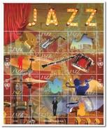 UNO Geneve 2014, Postfris MNH, Jazz Music - Genève - Kantoor Van De Verenigde Naties