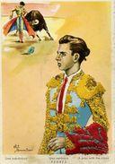 Carte Brodée - Una Veronica PEDRES - Illustrateur: Eloi Gumier - Brodées