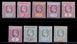 Nothern Nigeria 1902 MH Set SG 10/18 Cat £95 - Nigeria (...-1960)