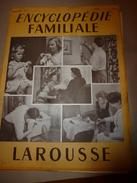 1950 ENCYCLOPEDIE FAMILIALE LAROUSSE -----> Reliure,Noeuds Et Cordages,Tissage-main,Vannerie,Cannage,Paillage,Lecture - Encyclopédies