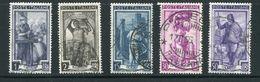 ITALIE- Y&T N°705 à 709- Oblitérés - 1946-60: Usati