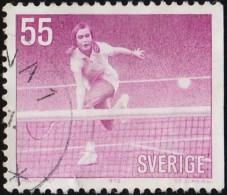 SWEDEN - Scott #917 Tennis / Used Stamp - Gymnastics