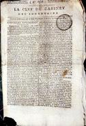 DEPORTATION DE FEMMES A BOTANY BAY PAR LES ANGLAIS  QUOTIDIEN LA CLEF DU CABINET 1803 - Zeitungen
