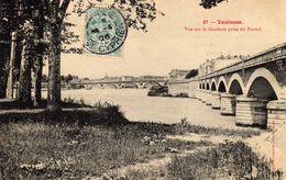 Toulouse Vue Sur La Garonne Prise Du Puntal - Toulouse