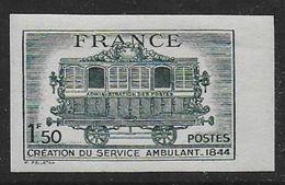 France N° 609a **  Non Dentelé - France