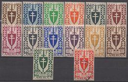 CAMEROUN   N°249/262 Sauf 256__NEUF** Plus  256  OBL VOIR  SCAN - Cameroun (1915-1959)
