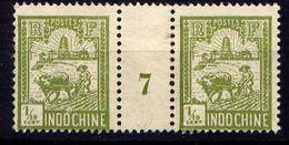 INDOCHINE - N° 123(*) - LABOUREUR ET TOUR DE CONFUCIUS - Unclassified