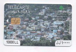 Town View Phonecard 2014 Lebanon , Liban Telecarte  Libanon - Lebanon