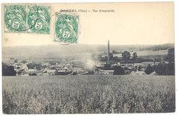 Cpa Bornel - Vue D'ensemble - Autres Communes