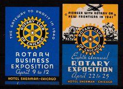 283 - U.P.U. Expositions, Vignettes Rares * - UPU (Union Postale Universelle)