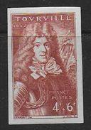 France N° 600b *  Non Dentelé - Cote :  54 € - France