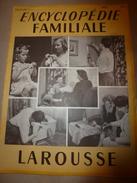 1950 ENCYCLOPEDIE FAMILIALE LAROUSSE ->Cordonnerie,Maroquinerie,Bicyclette,Motocyclette,Automobile,Travaux à La Maison - Encyclopédies