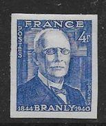 France N° 599a *  Non Dentelé - Cote :  23 € - France
