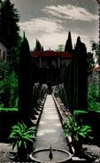 GRANADA - Generalife - Patio De Los Surtidores - Granada