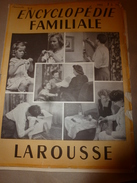 1950 ENCYCLOPEDIE FAMILIALE LAROUSSE ->Tapisserie,,Travaux à La Maison,Plomberie,Serrurerie,Tannage,Cordonnerie - Encyclopédies