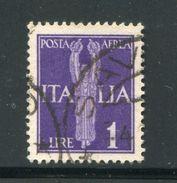 ITALIE- P.A Y&T N°14- Oblitéré - 1900-44 Victor Emmanuel III