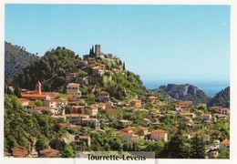 CPM - C - ALPES MARITIMES - TOURRETTE LEVENS - VUE GENERALE - France