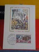 Coté 3€ > Prise De La Bastille > 10.7.1971 > 75 Paris > FDC 1er Jour - Cartes-Maximum