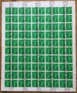 Japan 1976, Buddha Compleet Sheet, English Roller Cancel - Gebruikt