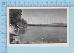 Lac Brome Quebec   - Photo Reel , La Plage Au Brome Lake Lodge, Photo J.A. Légaré - Quebec