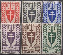 CAMEROUN   N°256 A 259 /261/262  NEUF* VOIR  SCAN - Cameroun (1915-1959)