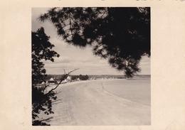 PHOTO ORIGINALE 39 / 45 WW2 WEHRMACHT FRANCE CAP COZ / BENODET VUE SUR LA PLAGE - War, Military