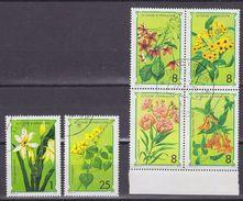 Sao Tome E Principe 1979 Flowers 6v Used Cto ** Mnh (37121) - Sao Tome En Principe