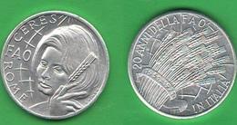 Gettone FAO  Sofia Loren 1971 20° FAO - Altri