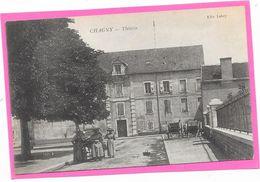 71 CHAGNY - Le Théatre - Animée - Chagny