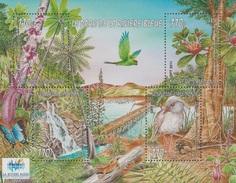 New Caledonia, Blue River Provincial Park, 2011, MNH VF  Souvenir Sheet Of 4 - Nuova Caledonia