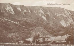 Folkestone; Cliffs From Warren - Not Circulated. (Valentine's Series) - Folkestone