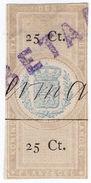 (I.B) Netherlands Revenue : Duty Stamp 25c (Plakzegel) - Nederland