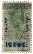(I.B) Burma Revenue : Insurance 8a - Burma (...-1947)