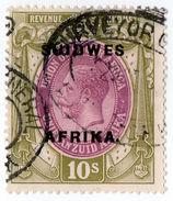 (I.B) South-West Africa Revenue : Duty Stamp 10/- - Afrique Du Sud-Ouest (1923-1990)