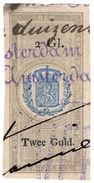 (I.B) Netherlands Revenue : Duty Stamp 2G (Plakzegel) - Nederland