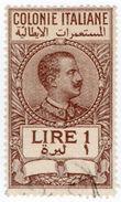 (I.B) Italy (Libya) Revenue : Duty Stamp 1L - Italy